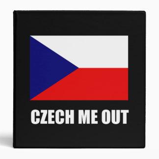 Czech Me Out Binder