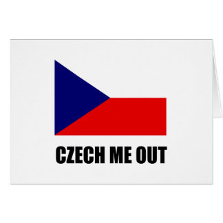 Czech Me Out Card