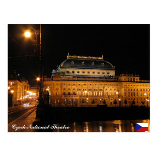 Czech National Theatre Postcard
