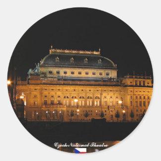 Czech National Theatre Sticker