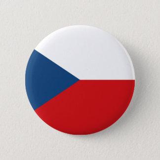 Czech Republic 2 Inch Round Button