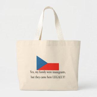 Czech Republic Canvas Bag