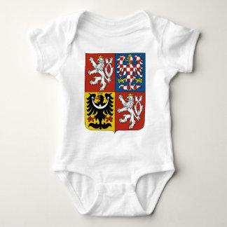Czech Republic Coat of Arms Baby Bodysuit