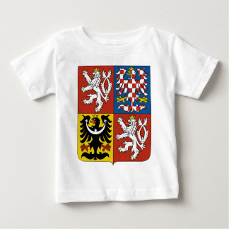 Czech Republic Coat of Arms Baby T-Shirt