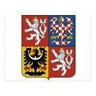 Czech Republic Coat of arms CZ Postcard