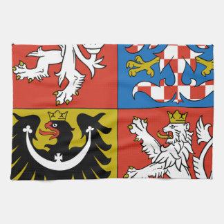 Czech Republic Coat of Arms Kitchen Towel