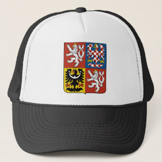 Czech Republic coat of arms Trucker Hat