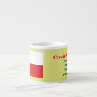 Czech Republic Custom Espresso Cup