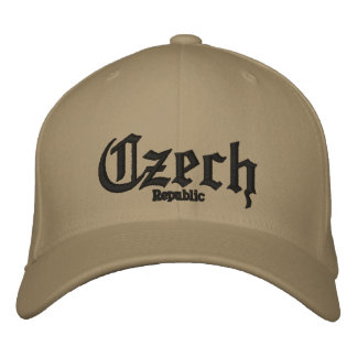 Czech, Republic Custom Hat