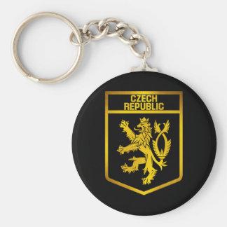 Czech Republic  Emblem Keychain