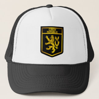 Czech Republic  Emblem Trucker Hat