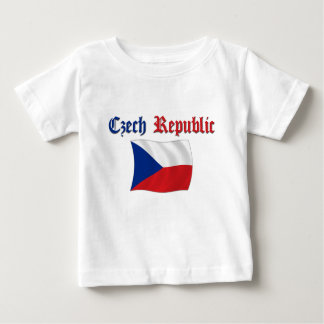 Czech Republic Flag Baby T-Shirt