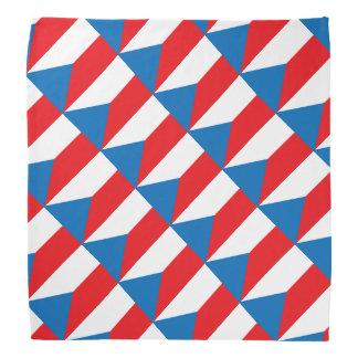Czech Republic Flag Bandana