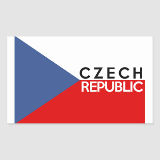 czech republic flag country text name sticker
