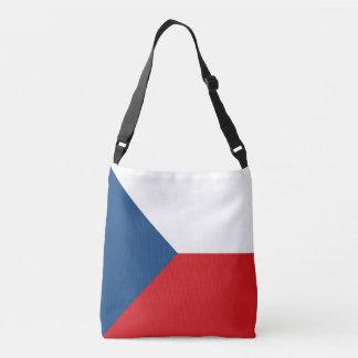 Czech Republic Flag Crossbody Bag