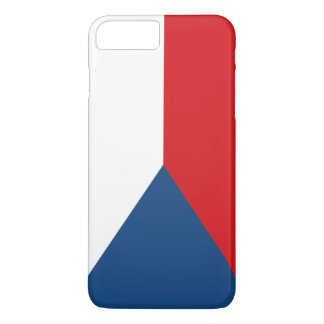 Czech Republic Flag iPhone 7 Plus Case