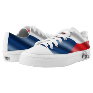 Czech Republic flag Low-Top Sneakers