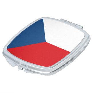 Czech Republic Flag Makeup Mirror