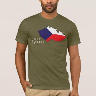 Czech Republic Flag-Map Shirt