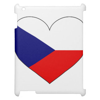 Czech Republic Flag Simple iPad Cover