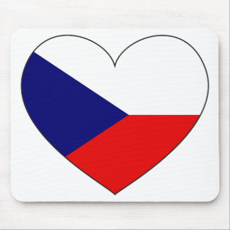 Czech Republic Flag Simple Mouse Pad