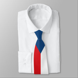 Czech Republic Flag Tie