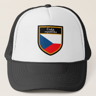 Czech Republic Flag Trucker Hat
