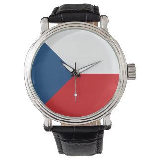 Czech Republic Flag Wristwatch