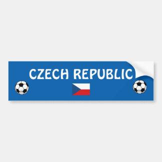 Czech Republic Football Bumper Sticker