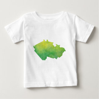 Czech Republic Map Baby T-Shirt
