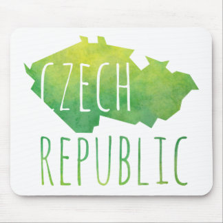 Czech Republic Map Mouse Pad
