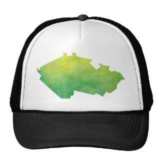 Czech Republic Map Trucker Hat