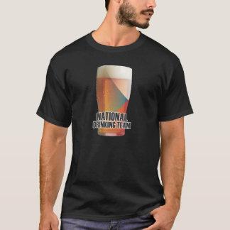 Czech Republic: National Drinking Team T-Shirt