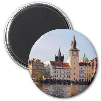 Czech Republic: Prague cityscape Magnet
