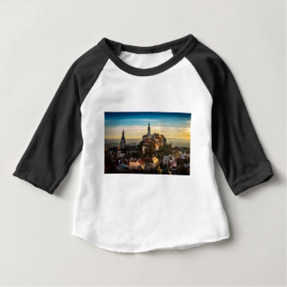 Czech Republic Skyline Baby T-Shirt