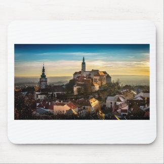Czech Republic Skyline Mouse Pad