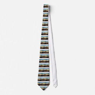 Czech Republic Skyline Tie