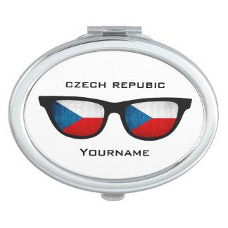 Czech Shades custom pocket mirror Makeup Mirrors