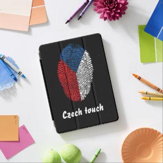 Czech touch fingerprint flag iPad air cover