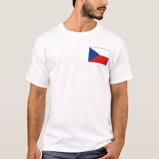 Czechia Flag and Map T-Shirt