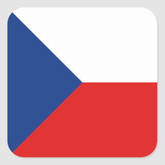 Czechia Flag Sticker