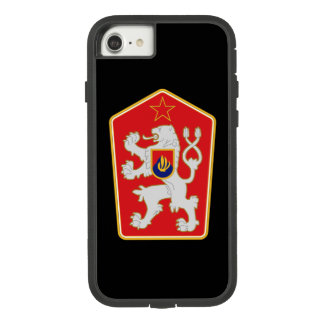 Czechoslovakia Emblem iPhone 7 Case. Case-Mate Tough Extreme iPhone 8/7 Case