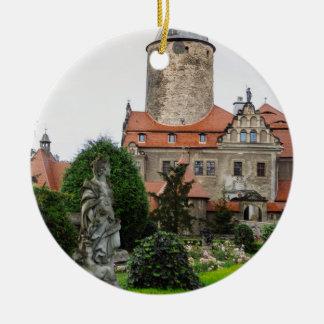 Czocha Castle in Poland, Medieval Architecture Ceramic Ornament