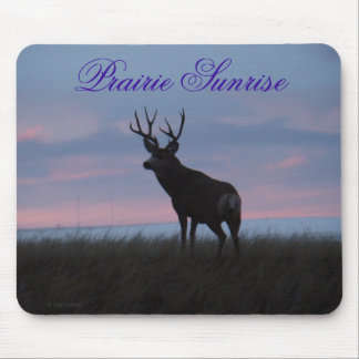 D0003 Mule Deer Buck Sunrise Buck Mouse Pad