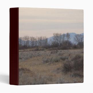 D0004 Mule Deer Buck and Sweet Grass Hills 3 Ring Binders