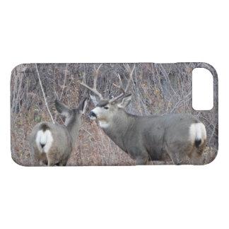 D0029 Mule Deer Buck and Doe IPhone 8/7 phone case