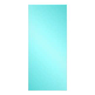 D1 Bi-Linear Gradient - Turquoise and Light Cyan Rack Cards
