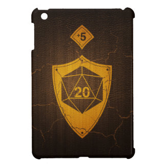 d20 Critical Save +5 Faux Leather Cover For The iPad Mini