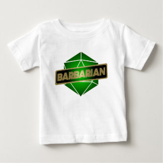 D20 Star Barbarian Baby T-Shirt