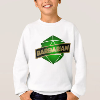 D20 Star Barbarian Sweatshirt